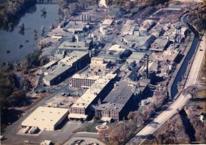 Former Ciba-Geigy Plant